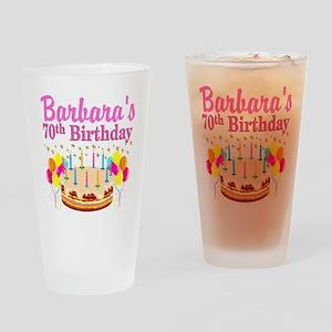 CELEBRATE 70 Drinking Glass
