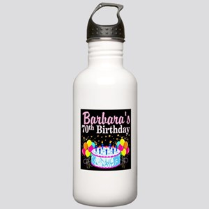 70TH PARTY GIRL Stainless Water Bottle 1.0L