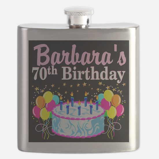 70TH PARTY GIRL Flask