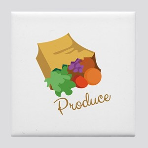 Produce Tile Coaster