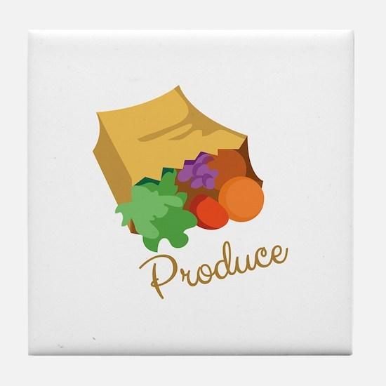 Produce Tile Coaster