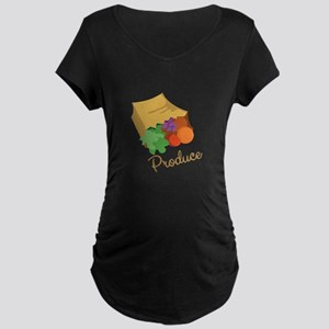 Produce Maternity T-Shirt