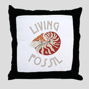 Living Fossil Throw Pillow