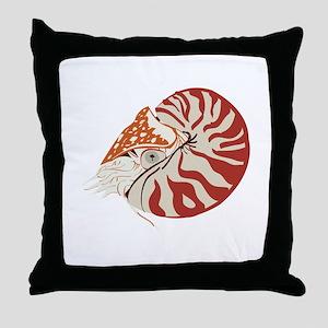 Nautilus Throw Pillow