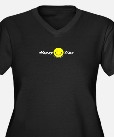 Happy Time Temp services! Women's Plus Size V-Neck