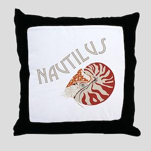 Nautilus Animal Throw Pillow