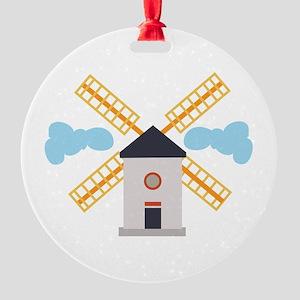 Windmill Ornament