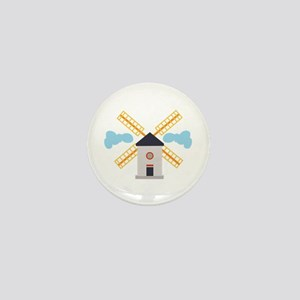 Windmill Mini Button