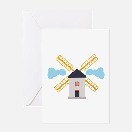 Windmill Greeting Cards