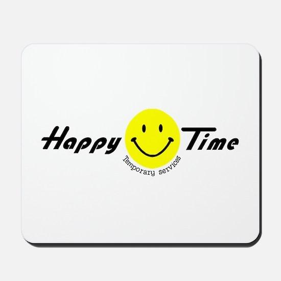 Happy Time Temp services! Mousepad