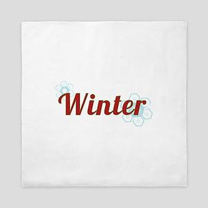Winter Queen Duvet