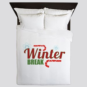 Winter Break Queen Duvet
