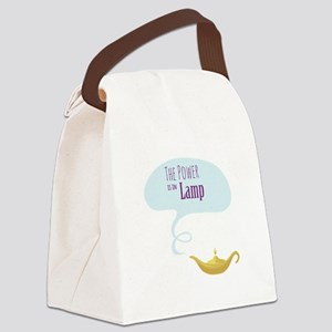 Power in the Lamp Canvas Lunch Bag
