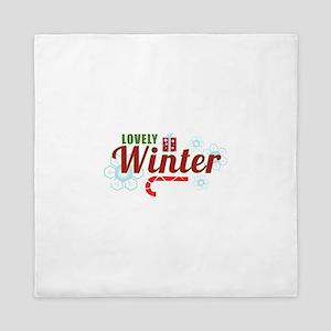 Lovely Winter Queen Duvet