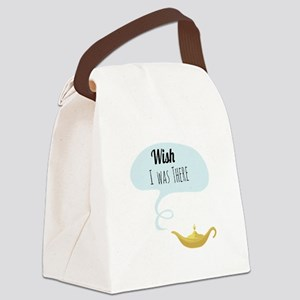 Wish I Was There Canvas Lunch Bag