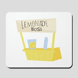 Lemonade Boss Mousepad