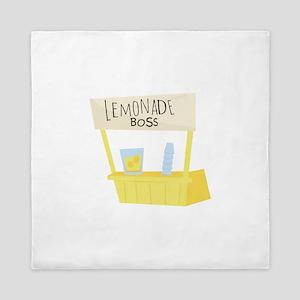 Lemonade Boss Queen Duvet