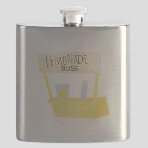 Lemonade Boss Flask