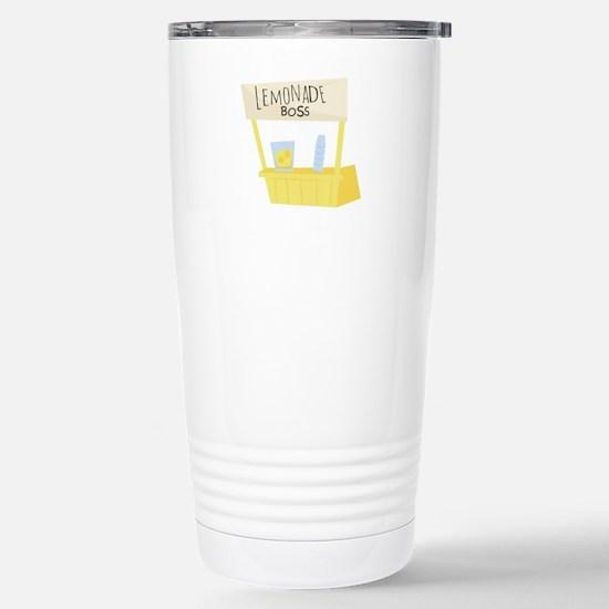 Lemonade Boss Travel Mug