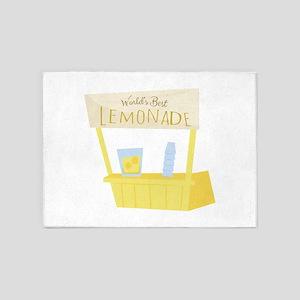 Worlds Best Lemonade 5'x7'Area Rug