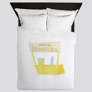 Worlds Best Lemonade Queen Duvet