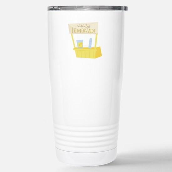 Worlds Best Lemonade Travel Mug
