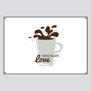 Chocolate Love Banner
