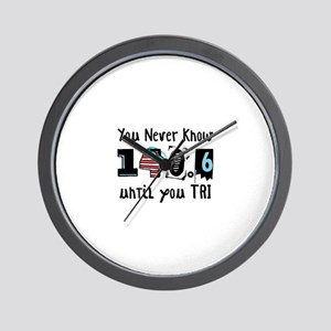 You Never Know Wall Clock