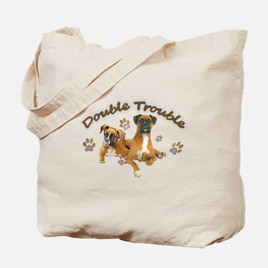 Boxer Double Trouble Tote Bag