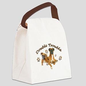Boxer Double Trouble Canvas Lunch Bag