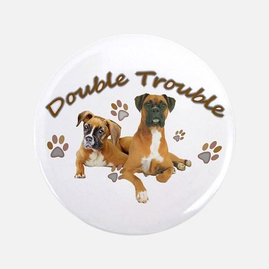 Boxer Double Trouble Button