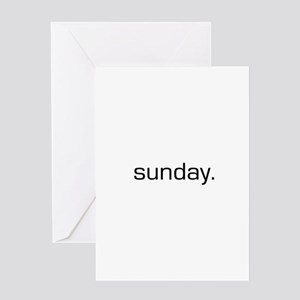 Sunday greeting cards cafepress sunday greeting card m4hsunfo