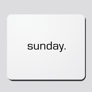 Sunday Mousepad