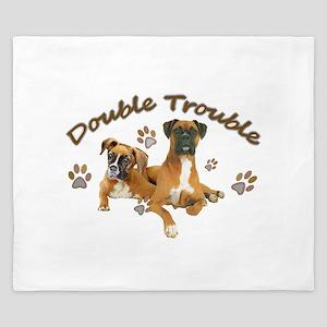 Boxer Double Trouble King Duvet