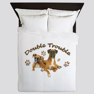 Boxer Double Trouble Queen Duvet