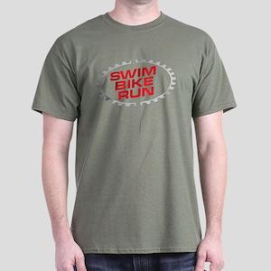SWIM BIKE RUN Dark T-Shirt