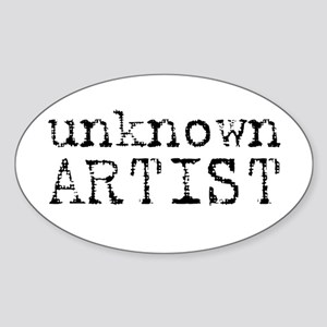 unknown artist Sticker