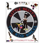 Little Britty And Chrissypoo Small Poster