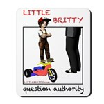 """Little Britty """"Question Authority"""" Mouse"""