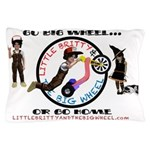 "Little Britty ""Go Big Wheel"" Pillow Case"