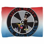 Little Britty Circle Logo Pillow Sham