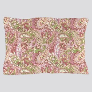 Baby Pink Watercolor Paisley 2 Pillow Case
