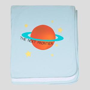 Next Frontier baby blanket