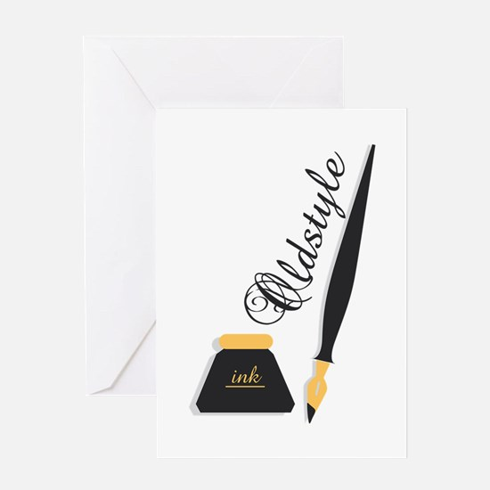 Oldstyle Greeting Cards