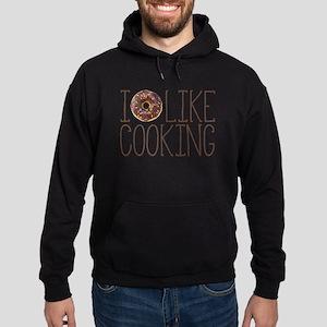 I Donut Like Cooking Hoodie