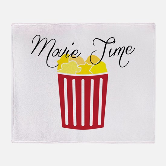 Movie Time Throw Blanket