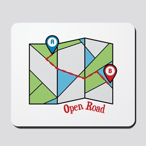 Open Road Mousepad