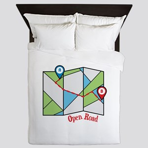 Open Road Queen Duvet