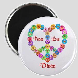 Disco Peace Love Magnet