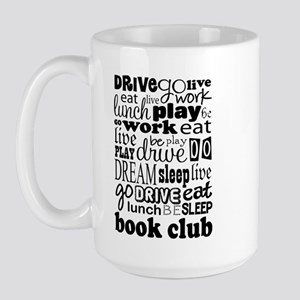 Book Club (eat Sleep) Mugs